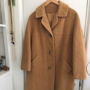 Vintage 100% Camel Hair Jacket